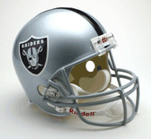 Oakland Raiders Riddell Full Size Deluxe Replica Football Helmet