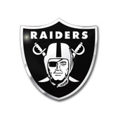 Oakland Raiders Color Auto Emblem - Die Cut