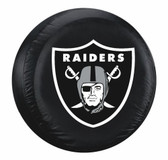 Oakland Raiders Black Tire Cover
