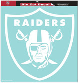 "Oakland Raiders 8""x8"" Die-Cut Decal"
