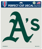 "Oakland Athletics Die-Cut Decal - 8""x8"" Color"