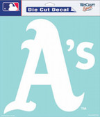 "Oakland Athletics 8""x8"" Die-Cut Decal"