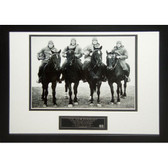 Notre Dame The Four Horsemen Framed Unsigned 8X10 Photo