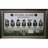 Notre Dame Heisman Trophy Winner Collage (20x32 - 7434)