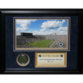 Notre Dame Game Used Dirt Collage (11x14 - 8414)