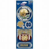 Notre Dame Fighting Irish Prismatic Stickers