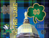 Notre Dame Fighting Irish Printed Canvas