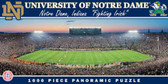 Notre Dame Fighting Irish Panoramic Stadium Puzzle