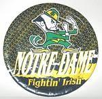 "Notre Dame Fighting Irish 9"" Dinner Paper Plates"