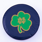 "Notre Dame Fighting Irish ""Shamrock""  Tire Cover"