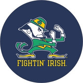 "Notre Dame Fighting Irish ""Leprechan"" Navy Tire Cover"