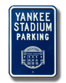 New York Yankees Yankee Stadium 2008 Parking Sign