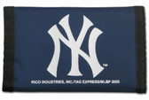 New York Yankees Nylon Trifold Wallet