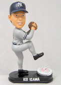 New York Yankees Kei Igawa Forever Collectibles Platinum Bobble Head (Road)