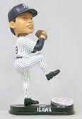 New York Yankees Kei Igawa Forever Collectibles Platinum Bobble Head (Home)