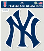 "New York Yankees Die-Cut Decal - 8""x8"" Color NY"