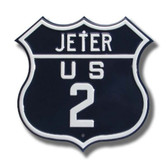 New York Yankees Derek Jeter Route 2 Sign