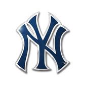 New York Yankees Color Auto Emblem - Die Cut
