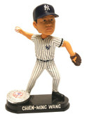 New York Yankees Chien-Ming Wang Forever Collectibles Platinum Bobble Head 8132965129