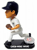 New York Yankees Chien-Ming Wang Forever Collectibles Platinum Bobble Head