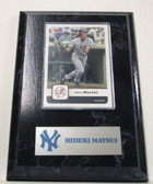 New York Yankees Card Plaque