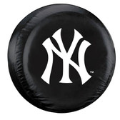 New York Yankees Black Tire Cover