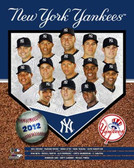 New York Yankees 2012 Team 8x10 Photo