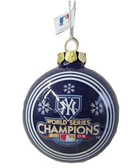 New York Yankees 2009 World Series Champions Glass Ball Ornament
