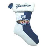 New York Yankees 2009 World Series Champions Christmas Stocking
