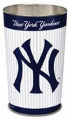 "New York Yankees 15"" Wastebasket - Pinstripes"