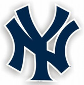 "New York Yankees 12"" Car Magnet"
