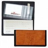 New York Rangers Leather/Nylon Embossed Checkbook Cover