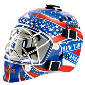 New York Rangers Franklin Mini Goalie Mask