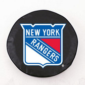 New York Rangers Black Tire Cover, Large