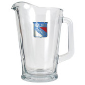New York Rangers 60oz Glass Pitcher