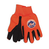 New York Mets Two Tone Gloves - Adult Size