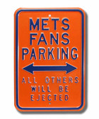 New York Mets Others will be ejected Parking Sign