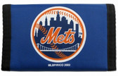 New York Mets Nylon Trifold Wallet