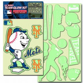 New York Mets Lil' Buddy Glow In The Dark Decal Kit