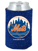 New York Mets Kolder Kaddy Can Holder - Glitter