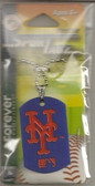 New York Mets Dog Tag Necklace