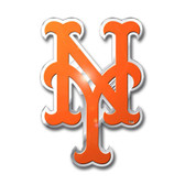 New York Mets Color Auto Emblem - Die Cut