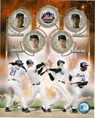 New York Mets Big 4 8x10 Photo