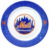 New York Mets 4 Piece Dinner Plate Set