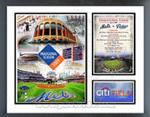 New York Mets 2009 Citi Field Inaugural Game Milestones & Memories Framed Photo