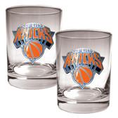 New York Knicks Rocks Glass Set
