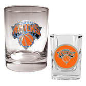 New York Knicks Rocks and Shot Glass Set