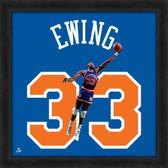 New York Knicks Patrick Ewing 20X20 Framed Uniframe Jersey Photo