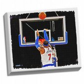 New York Knicks Carmelo Anthony Framed Stretched 32X40 Canvas