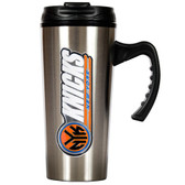 New York Knicks 16oz Stainless Steel Travel Mug